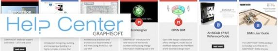 ArchiCAD helpcenter - support